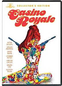 "This ""Casino Royale"" is a parody, and stars David Niven as Sir James Bond."