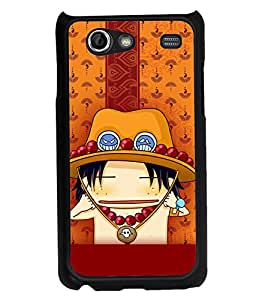 Fuson 2D Printed Cartoon Designer back case cover for Samsung Galaxy S Advance I9070 - D4288