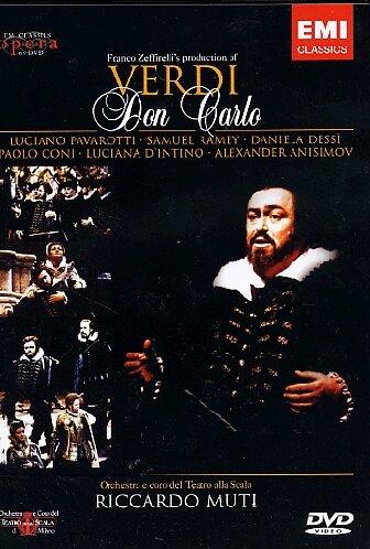 Don Carlo (L.Pavarotti - R.Muti) - Verdi - DVD