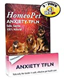 HomeoPet Anxiety Natural Homeopathic Remedy for Pets (Pack of 3)