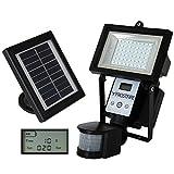 Beleuchtung - Frostfire Digitale 56 LED Ultrahelle Solares Leuchte mit Bewegungsmelder