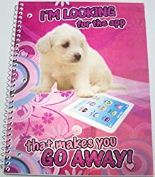 iDimension Poly Lenticular Cover Notebook Im Looking for the App that Makes You Go Away (70 Sheets