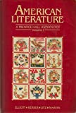American Literature: A Prentice Hall Anthology (0130272442) by Elliott, Emory