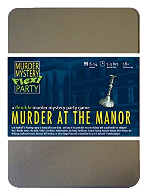 Murder at the Manor 6-14 Player Murder Mystery Flexi-Party