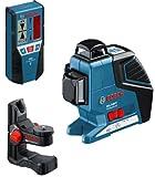 BOSCH 601063308 Cross Laser Level GLL 3-80 P Set