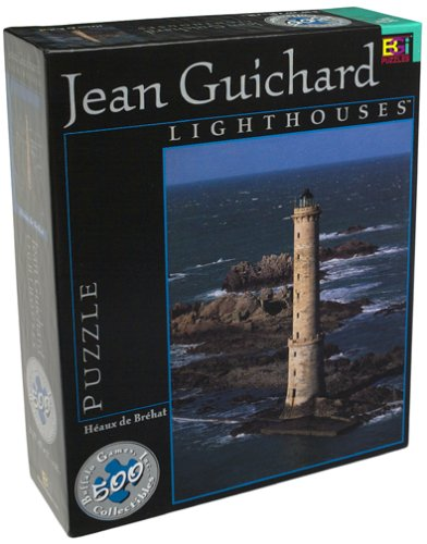 Lighthouse Heaux de Brehat Jigsaw Puzzle 513pc