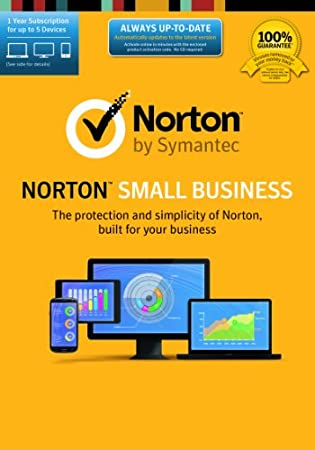 Norton Small Business-5 Device [Online Code]
