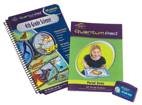 Quantum Pad Learning System: 4th Grade Science Interactive Book and Cartridge - 1