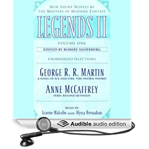 Legends II, Volume 2: New Short Novels by the Masters of Modern Fantasy (Unabridged Selections) (Unabridged)