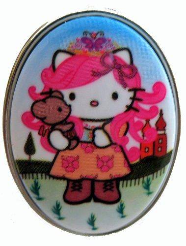Tarina Tarantino Pink Head Russian Nouveau Ring (White)