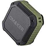 Omaker M4 Portable Bluetooth 4.0 Speaker with 12 Hour Playtime for Outdoors/Shower (Army Green)
