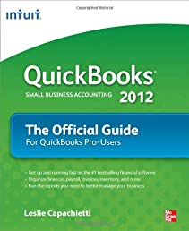 QuickBooks 2012 The Official Guide (Quick Guides)