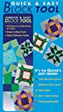 img - for Quick & Easy Block Tool: 102 Rotary-Cut Quilt Blocks in 5 Sizes Simple Cutting Charts Helpful Reference Tables book / textbook / text book
