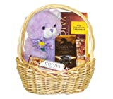 Godiva Chocolates Galore Teddy Bear & Assorted Chocolate Gourmet Gift Basket