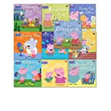 Peppa Pig Collection 10 Books Set, (Peppa Goes Swimming, Dentist Trip, Daddy Pig's Office, School Bus Trip, Tooth Fairy, Tiny Creatures, Daddy Pig's Old Chair, Sports Day, Nature Trail, Recycling Fun!)