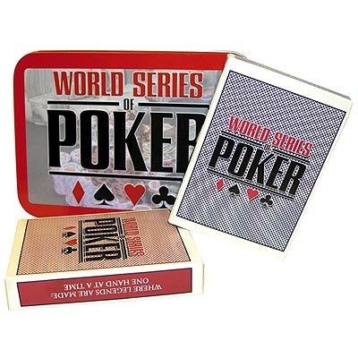 Excalibur 2042-WSOP WSOP Premium Cards Collectors Tin - 1