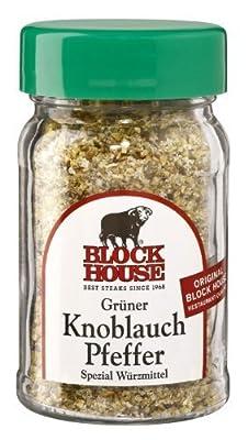 Block House - Grüner Knoblauch Pfeffer Würzmittel - 200g von Block House auf Gewürze Shop