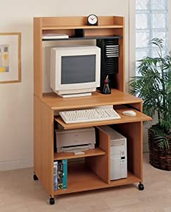 Amazoncom pc cart soho o39sullivan office furniture for O sullivan kitchen furniture