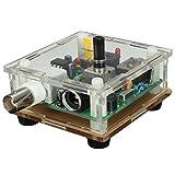TOOGOO(R) DIY Kit DC9-13.8V S-PIXIE CW QRP Shortwave Radio Transceiver 7.023Mhz With Case