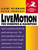 LiveMotion for Windows & Macintosh (Visual QuickStart Guide) (0201704730) by Weinmann, Elaine
