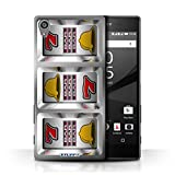STUFF4 Phone Case Cover for Sony Xperia Z552 Bars Design Slot Machine Collection