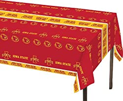 Creative Converting Iowa State Cyclones Plastic Banquet Table Cover