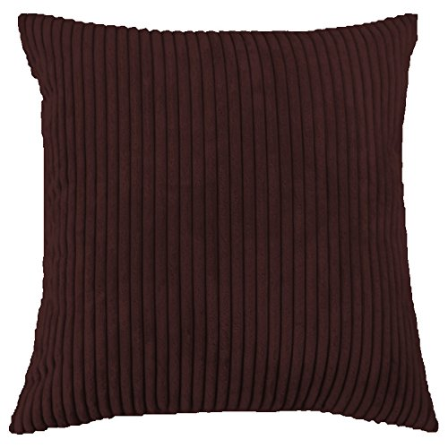 Striped Corduroy Velvet Decorative Pillow Covers-Set of2(18