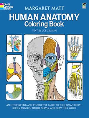 Biology Book :: Human Anatomy Coloring Book (Dover Children's Science Books) from Dover Publications