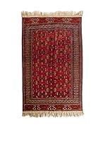 CarpeTrade Alfombra Royal Yomut (Rojo/Multicolor)