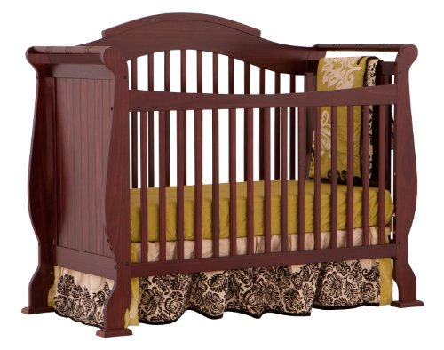 Stork Craft Valentia Convertible Crib Cherry Baby Shop