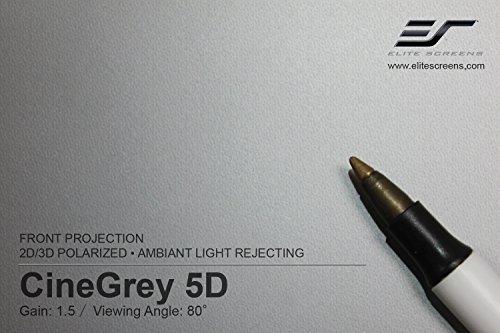 Elite Screens Designer Cut, 135-inch 16:9, DIY Ambient Light