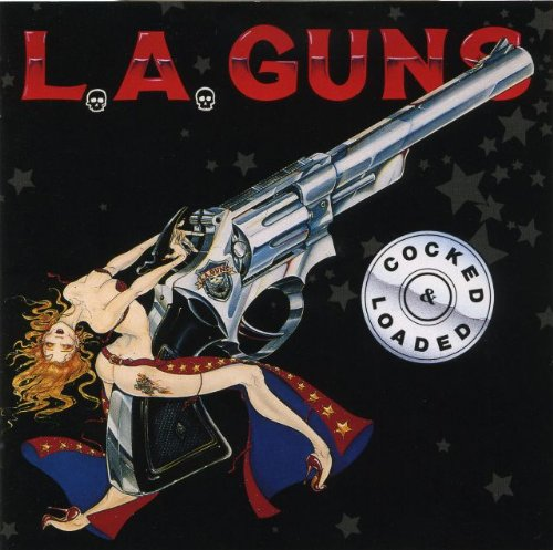 Original album cover of COCKED & LOADED(reissue) by L.A. GUNS