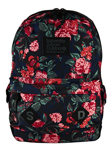 Superdry Savannah Montana Zaino Casual, 40 cm, Elizabeth Rose Berry (XNF)