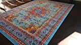 Generations pre8023LightBlue_2x4 Oriental Traditional Isfahan Persian Area...