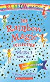 Daisy Meadows The Rainbow Magic Collection, Volume 1: Books #1-4: Ruby the Red Fairy/Amber the Orange Fairy/Sunny the Yellow Ferry/Fern the Green Fairy [With Sticke