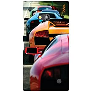 Nokia Lumia 730 Back Cover - Super Car Designer Cases