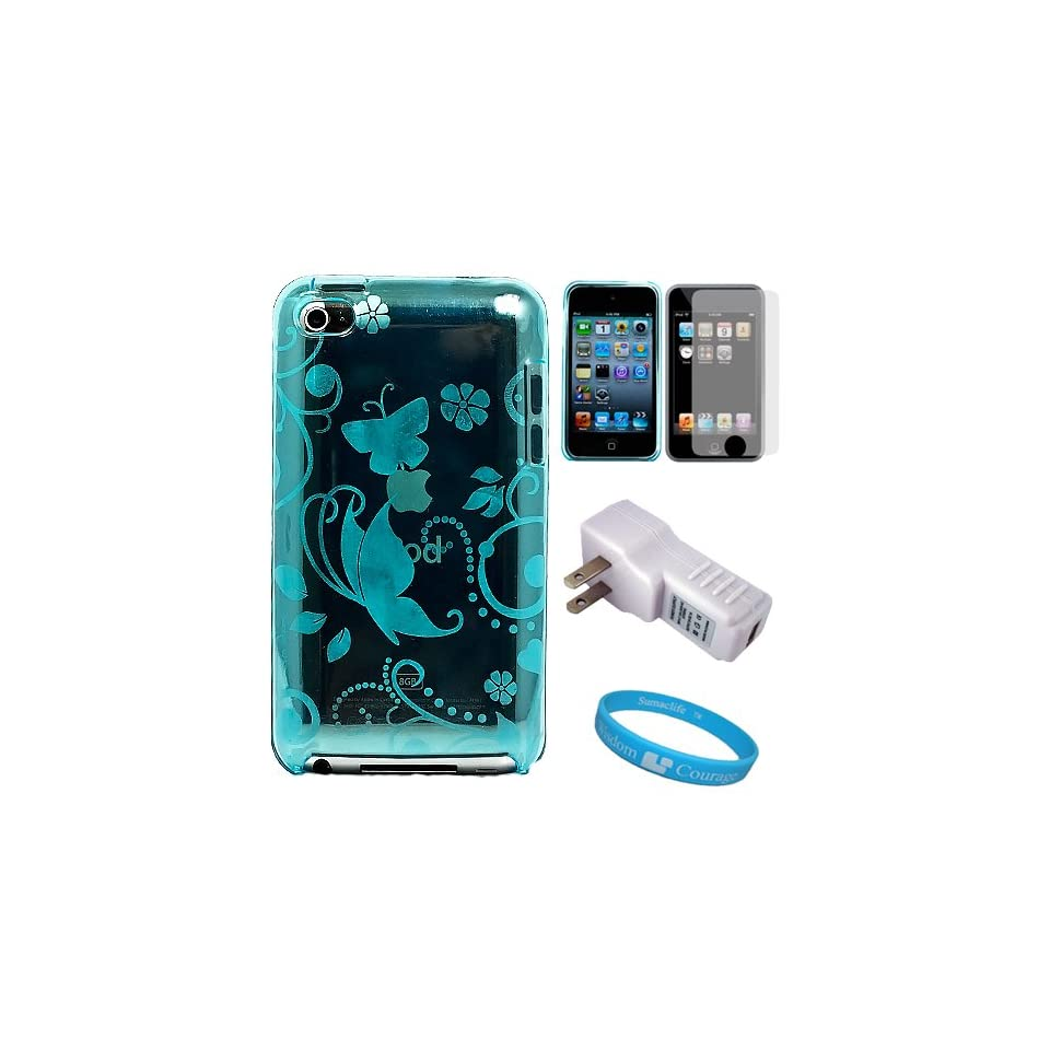 Design Protective TPU Silicone Skin Cover for Apple iPod Touch