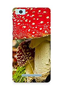 Amez designer printed 3d premium high quality back case cover for Xiaomi Mi5 (Mushroom in fall)