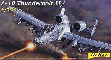Heller - 79912 - Construction Et Maquettes - A-10 Thunderbolt Ii - Echelle 1/144ème