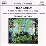 Villa-Lobos: Complete Music for Solo Guitar