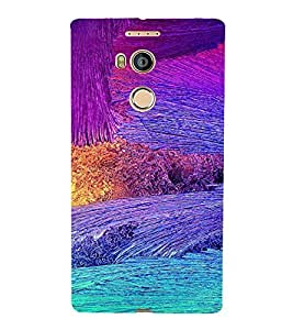 PrintVisa Modern Art Pattern 3D Hard Polycarbonate Designer Back Case Cover for Gionee E8