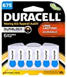 Duracell Batteries, Hearing Aid, 675 6 batteries