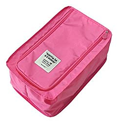 Waterproof Travel shoe bag - Pink