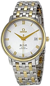 Omega Men's 4374.31 Silver Dial DeVille Prestige Watch