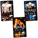J. R. Ward J. R. Ward Fallen Angels Series 3 Books Collection Pack Set RRP: £22.97 (Covet, Envy , Crave)