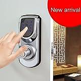 Touch Screen Elettronica Keyless Smart sicurezza tastiera porta serratura reversibile Maniglia Casa Ingresso 6600-101C