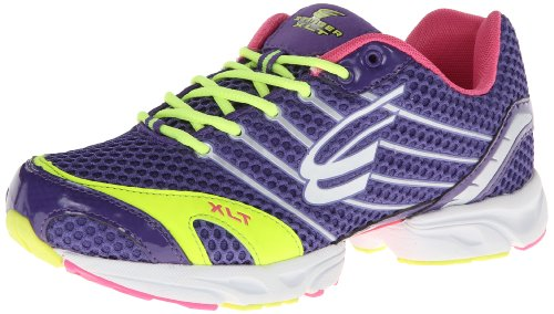 Spira Women'S Stinger Xlt Running Shoe,Grape/Lime/White,12 B Us
