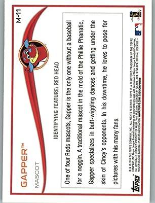 2014 Topps Opening Day Mascots #M11 Gapper - Cincinnati Reds (Baseball Cards)