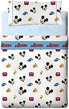 Comprar Disney Mickey Colors - Juego de sábanas de 3 piezas para cama de 90 cm