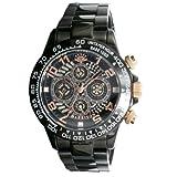 [ジョンハリソン] JHARRISON 腕時計 自動巻き スケルトン JH002-BBKAP メンズ [正規輸入品]